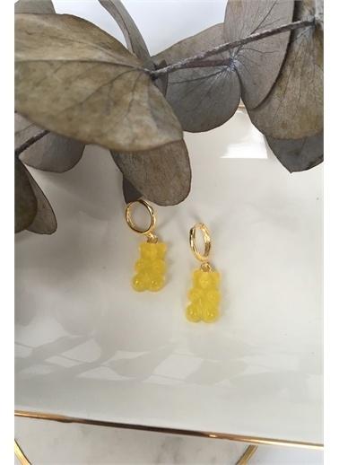 My Joyas Design  Ayıcık Jelibon Küpe Altın
